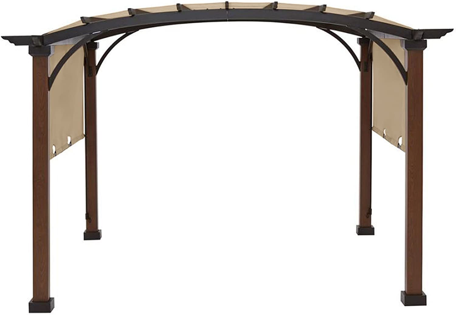 Garden Winds Replacement Canopy Top Cover for The AR Freestanding Pergola - RipLock 350