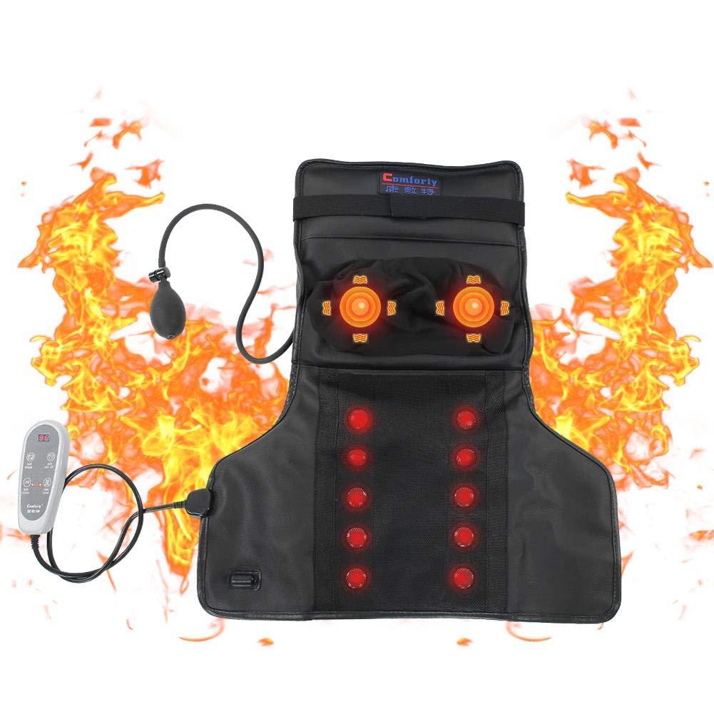 ZJchao Electric Heating Massager, Constant Kneading Temperature Plug) Hot Compress Shiatsu Constant Kneading Massage for Neck Back Neck Shoulder, Relax Back Pain(US Plug) 141[並行輸入] B07MVG9BJJ, 酒楽SHOP:cc908096 --- lembahbougenville.com