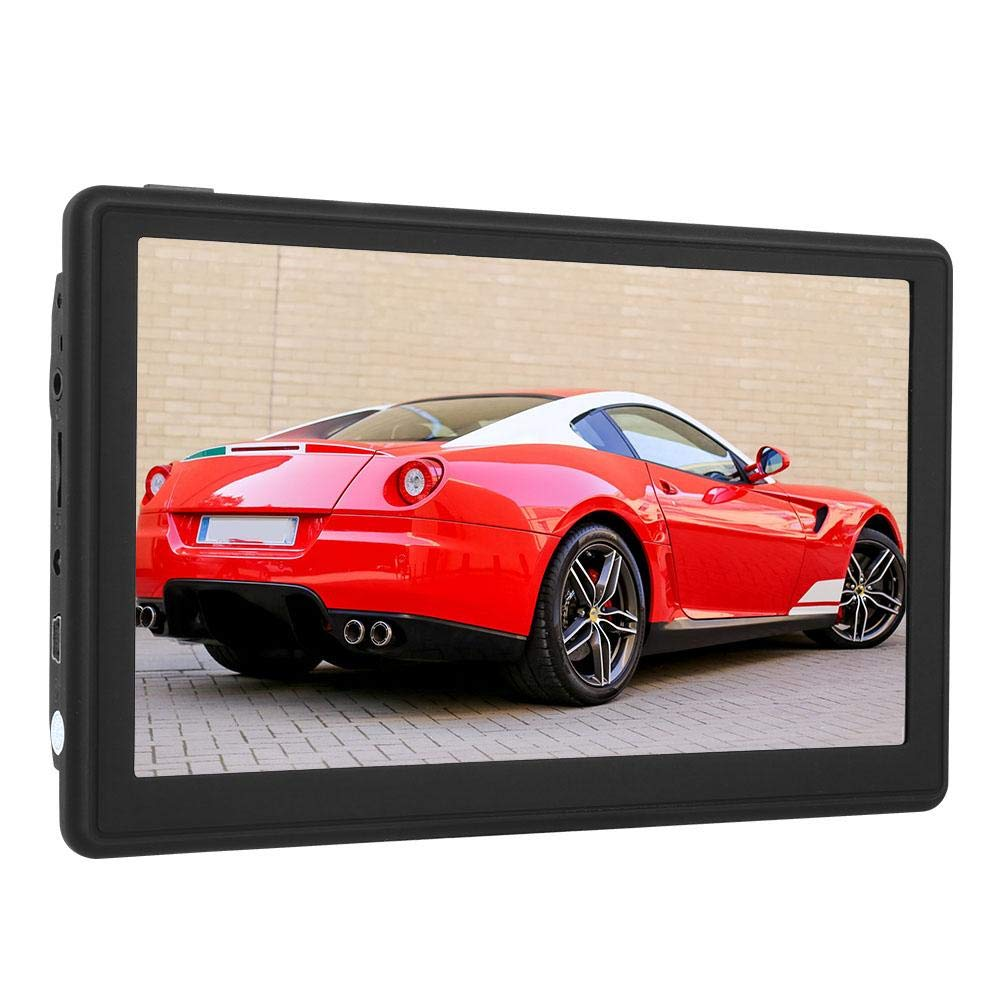Wendry 7-Inch GPS Navigation Device, HD Portable Touch Screen Car Navigator GPS Navigation Support MP3,WMV and Other Audio Formats Suitable for All Vehicles by Wendry