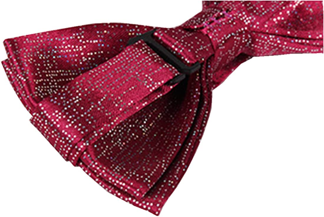 Formal Pre Tied Sequin Bow Tie for Men//Women//Big Boy