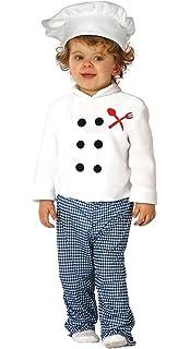DISBACANAL Disfraz Cocinero niño - Único, 2 años: Amazon.es ...