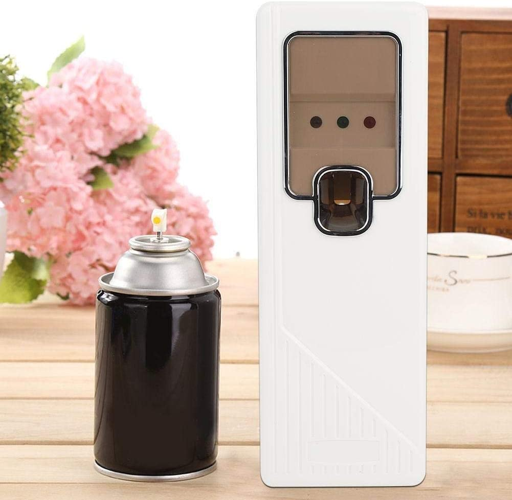 Delaman Air Fresher Dispenser Electric Automatic Spray-Free Pump Aroma Machine for Home Office Bedroom