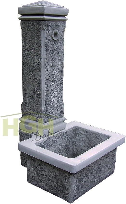 Fuente de Agua con trog pared Agua parte Fuente jardín parque Terraza Decoración: Amazon.es: Jardín