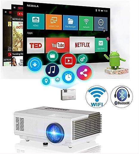 SWEET Vga AV Altavoz LCD Proyectores Ayuda HD 1080P De WiFi ...