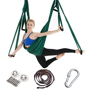 Amazon.com: Aerial Yoga Hammock 6 Handle-Free, Hong Kong ...