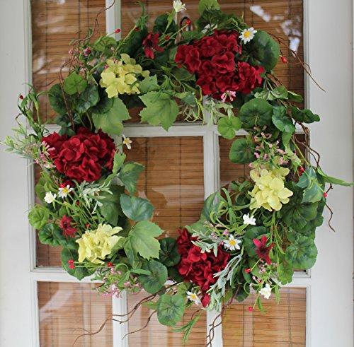 Grapevine Door Wreath Decor - 3