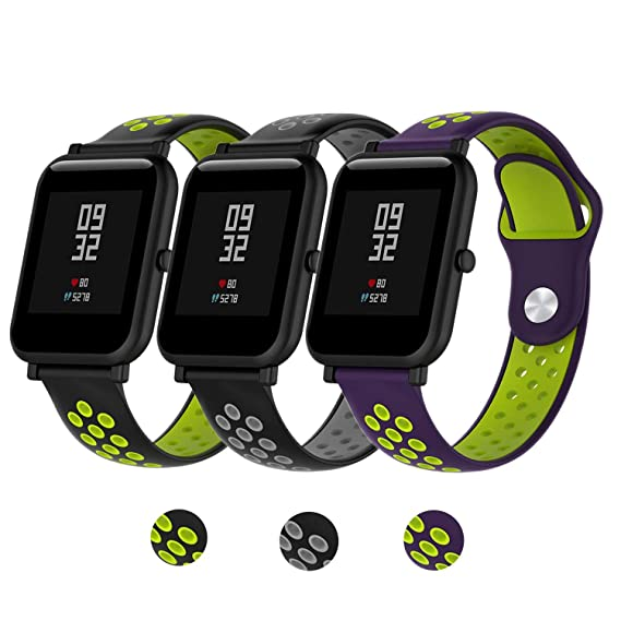 Amazon.com: Compatible Xiaomi Huami Amazfit Bip Youth Watch ...