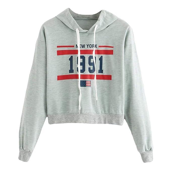 AMUSTER Sweats à Capuche Femme, Hoodie Sport Sweat-Shirts Robe Pull Fille Sweat  Capuche Grande Taille Veste à Manches Longues Hiver Sweatshirt Décontractée  ... 7b59417c7839