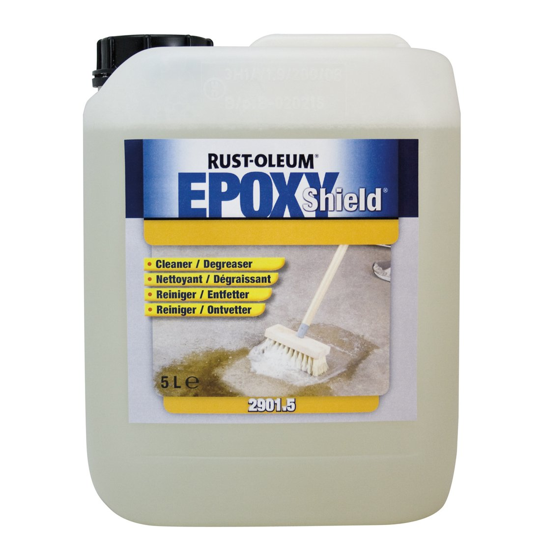 RUST-OLEUM 2901.5 Epoxy shield Cleaner/Degreaser, Ready To Use On Floors, transparent