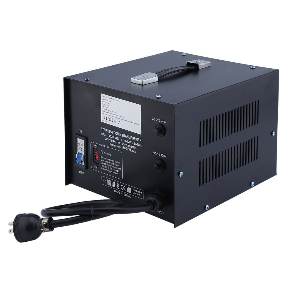Homgrace 5000 W Voltage Converter Transformer, Heavy Duty Step Up and Down 110-220V (ST-5000 W) by Homgrace (Image #4)