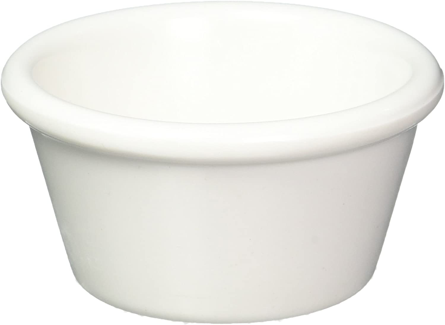 Kitchen Supply White Porcelain Ramekin 2-Ounce