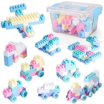 OYTRO New Kids Children Building Blocks Toys Puzzle Insert DIY Toys Stacking Blocks: Clothing [5Bkhe0803890]
