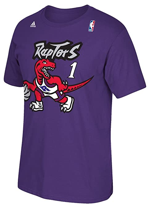 0c2c289de18 Amazon.com   Toronto Raptors Tracy McGrady Throwback Vintage Adidas ...