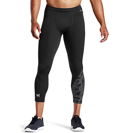 960bcc12f Amazon.com   Mission X Wade Collection Men s Compression 3 4 Tights ...