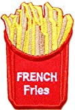 FRENCH FRIES Cooking Chef Kid Baby Jacket T-shirt Patch Sew Iron on Embroidered Applique Sign Badge Costum Gift