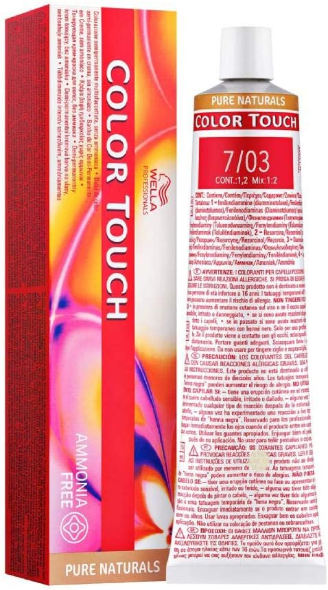 Wella Tinte Color Touch Pure Natural 7/03-60 ml