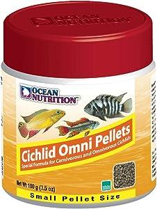 Ocean Nutrition Cichlid Omni Pellets 3.5-Ounces (100 Grams) Jar - Small Pellet Size