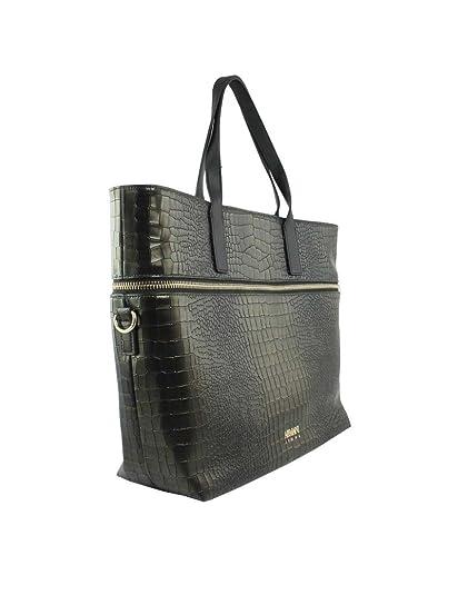 1d21cb58e20 ARMANI JEANS - Sac Cabas Vert Effet Croco Métallisé - Femme  Amazon.co.uk   Shoes   Bags