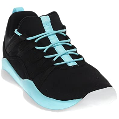 meet 8047b 59d0a Image Unavailable. Image not available for. Color  Jordan Nike Kids deca  Fly GG Black White Still Blue White Basketball Shoe
