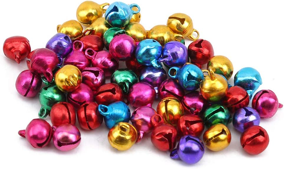 Jingle Bells Jewelry Christmas Decor Cute Handmade DIY Crafts