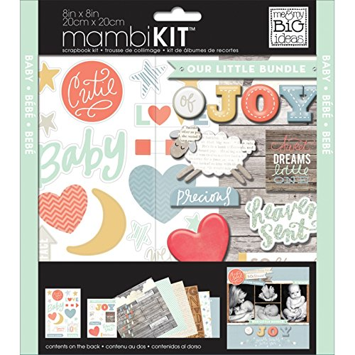 me & my BIG ideas Brand New Baby Page Kits, 8-Inch by - Idee Brand