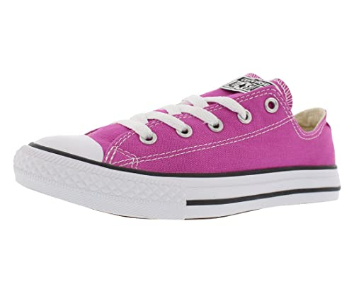 7cfec53505ca8 Image Unavailable. Image not available for. Color  Converse Kids Sneakers Chuck  Taylor All Star OX Plastic Pink ...