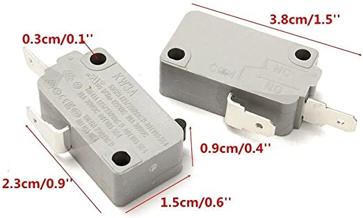 winwill 2pcs Microondas Horno kw3 a puerta Micro interruptor ...