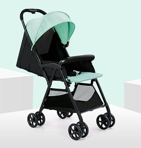QQB &Carro Plegable Cochecito de bebé portátil Plegable Ultraligero niños Mini Paraguas (Color : 2
