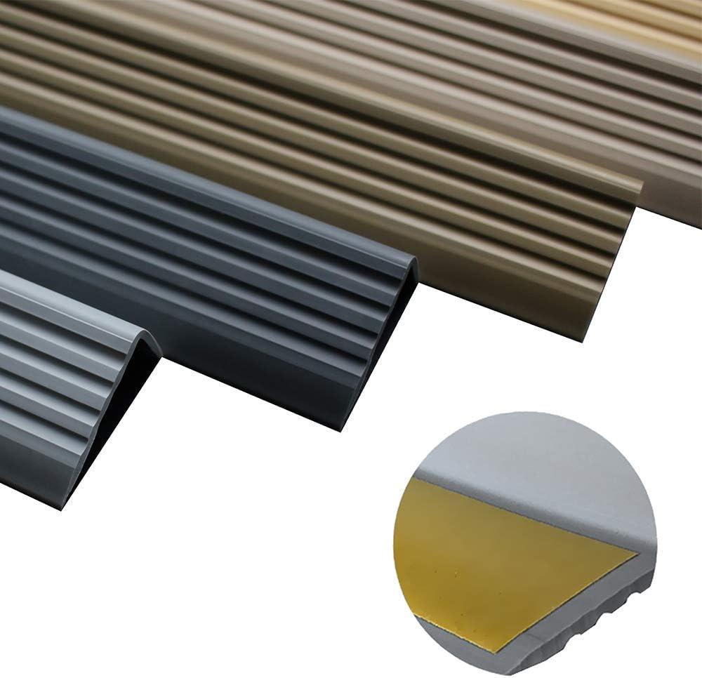 50 x 42 RGP Profil/é pour nez de marche en PVC et caoutchouc
