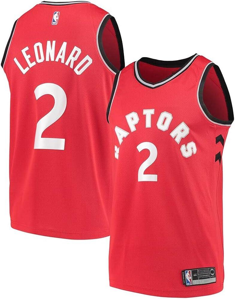 c83b5536 Mitchell & Ness Men's Toronto Raptors #2 Kawhi Leonard Red Icon Swingman  Jersey M