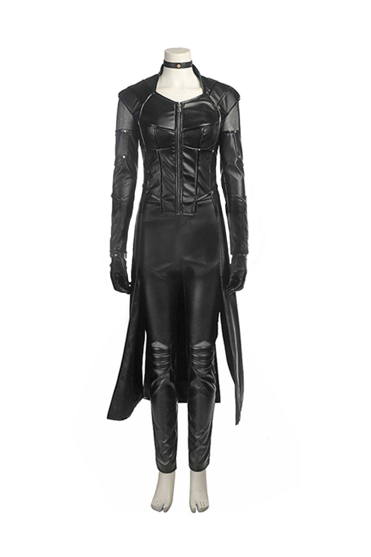Laurel Lance Full Set Costume Deluxe Black Green Spandex CL Arrow Cosplay Halloween S