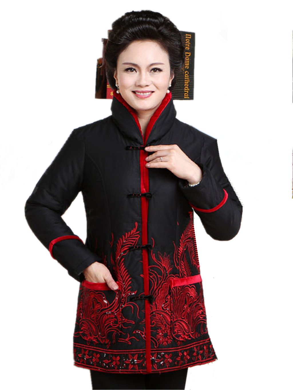 100% Cotton Womens Tang Suits Cotton-padded Jackets Womens Jackets Business Jackets Full Dress Cotton-padded Clothes