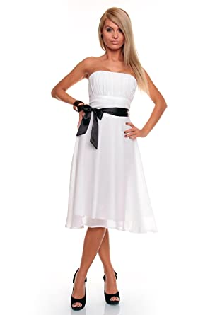 Princess Brautmoden Schones Kurzes Cocktailkleid Kleid Mit Schleife