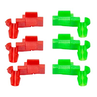 Samlight 3 Pairs Tailgate Handle Rod Clips OEM Replacement Parts 88981030 88981031 M49 for 1999-2007 Chevy Silverado GMC Sierra: Automotive