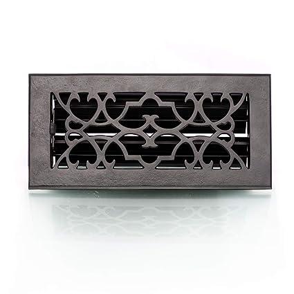 style ancien XL /Grille en fer /Grille ventilation air chaud pour chemin/ée 11,5/x 23/cm/ Antikas/