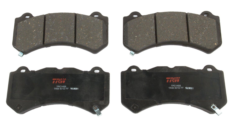 TRW TPC1405 Premium Ceramic Front Disc Brake Pad Set TRW Automotive