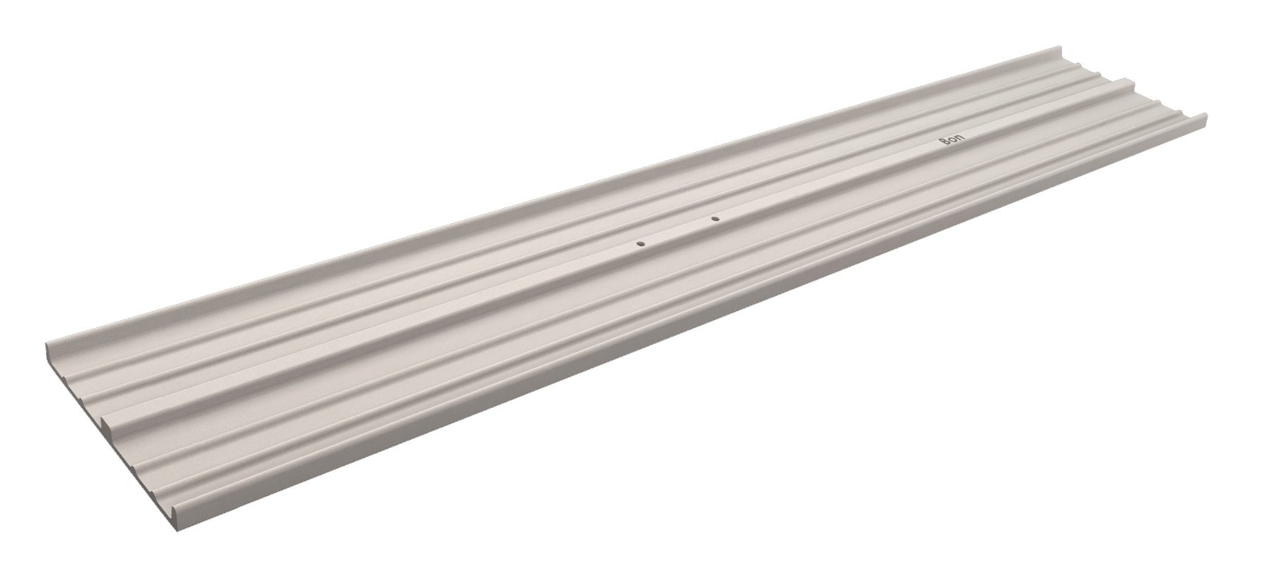 Bon 22-162 48-Inch by 8-Inch Square End Magnesium Bull Float