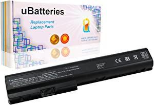 UBatteries Compatible 63Whr Battery Replacement for HP Pavilion dv7t-3000 DV7-3065DX DV7-3085DX DV7-3165DX DV7-3060US DV7-3080US DV7-3160US DV7-3180US Series - 8 Cell, 4400mAh