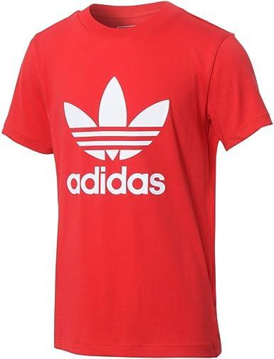 Brand New Junior Boys Kids Large Logo Adidas T Shirt Top