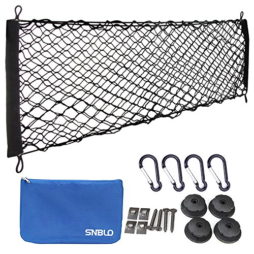 "Truck Bed Cargo Nets - [34""x12""] Hammock Car Trunk Organizer- Trunk Storage Tailgate Net by (Gmc Cargo Trucks)"