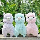 Alpacasso Alpaca Plush Toy 35cm Height Soft Stuffed Plush Arpakasso Doll Toy Alpacasso Plush Large (White)