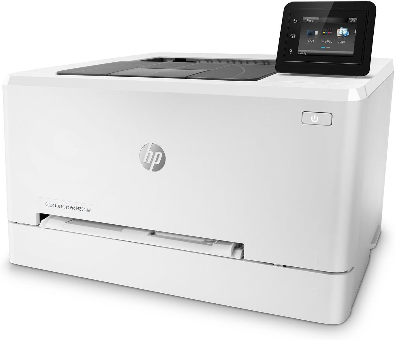 HP Laserjet Pro M254dw Wireless Color Laser Printer (T6B60A) (Renewed)