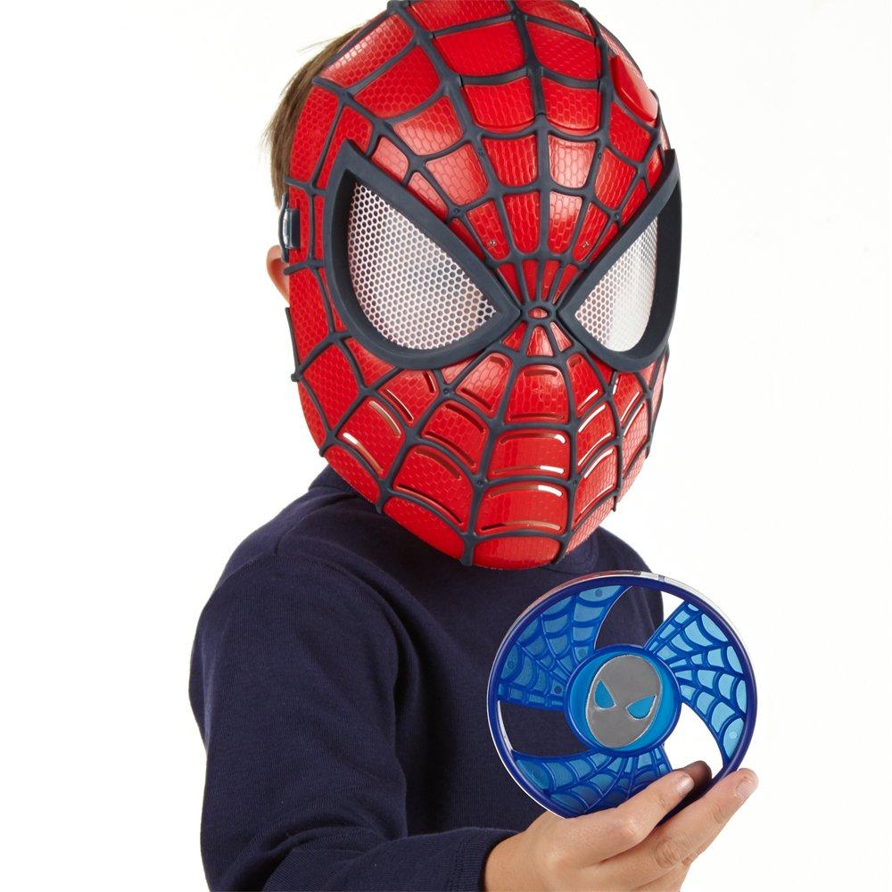 Spiderman Marvel Máscara con visión nocturna (Hasbro A5713E27): Amazon.es: Juguetes y juegos