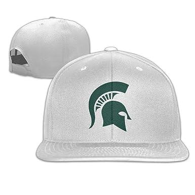 Michigan State Spartans Flat Bill gorra de béisbol sombrero gorra ...