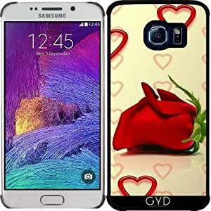 Funda para Samsung Galaxy S6 EDGE (SM-G925) - Rosa Del Amor by WonderfulDreamPicture