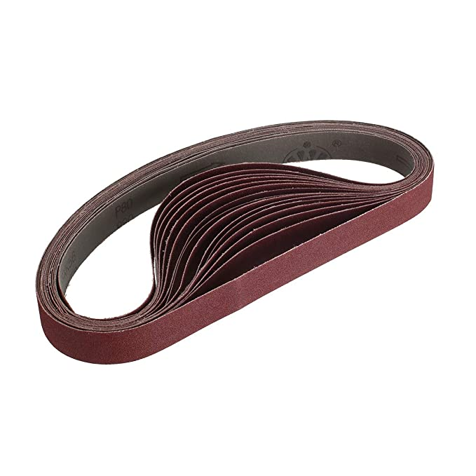 Amazon.com: Miady Cinturón de lijado de óxido de aluminio de ...