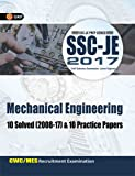 SSC (CWC/MES) Mechanical Engineering 10 Solved Papers & 10 Practice Papers for Junior Engineers 2017