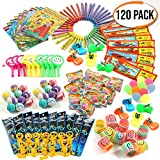 The Twiddlers 120 Pcs Carnival Loot Bag Party Favors Prizes for Boys Girls, Kids Assorted Premium Quality Toys Pinata Stuffers Bulk Game Prizes Birthday Gifts Classroom Supplies Box Toy Assortment