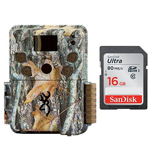 Browning STRIKE FORCE PRO Micro Trail Camera (18MP) with 16GB Memory Card by Browning Trail Cameras