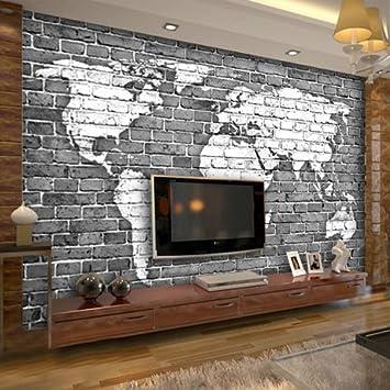 Wapel 3d Tapete Benutzerdefinierung Nostalgie Retro Bar Wohnzimmer